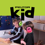 Peltor Kid grön